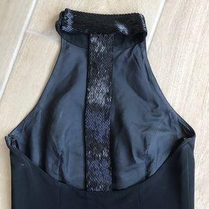 Niteline by Della Roufogali Black Sheath Gown 4